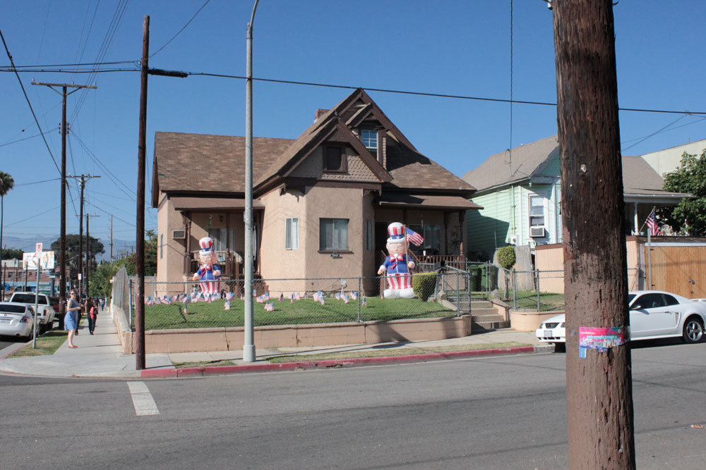 ... the Boyle Heights neighborhood, just outside of downtown Los Angeles